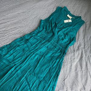 Anthropologie Turquoise La Habana Dress by Maeve